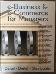 Livro e-Busuness & e-Commerce for Managers