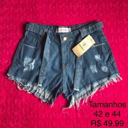 Shortinhos jeans 42 ao 46