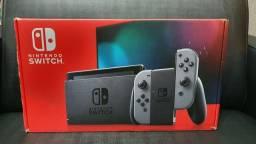New Nintendo Switch bateria estendida, cinza + película de proteção