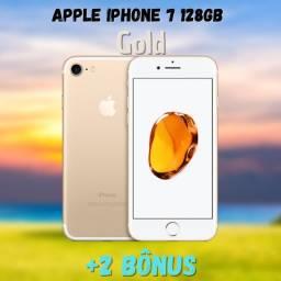Promoção de Dia dos Namorados! Apple iPhone 7 128GB Dourado + 2 Bônus