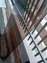 Mesa vidro  1,85x 0,75