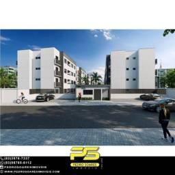 Apartamento com 2 dormitórios à venda, 43 m² por R$ 116.000 - Cristo Redentor - João Pesso