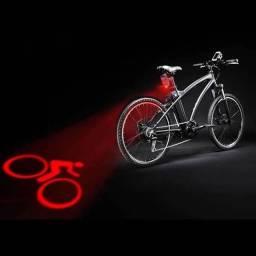 Luz traseira LED para bicicleta