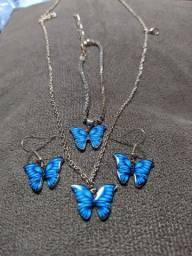Conjunto borboleta