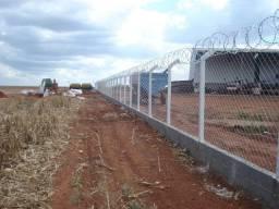 telas ,alambrados, (34) 9 9666- 1601   portões, cercas, postes de  cimento