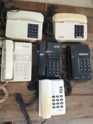 Título do anúncio: Telefones com fio