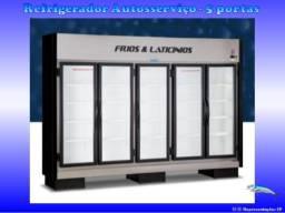 Refrigerador Autosserviço * 05 Portas *