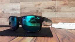 Óculos Oakley Holbrook Moto GP Preto/Esmeralda Polarizado - Novo e Importado