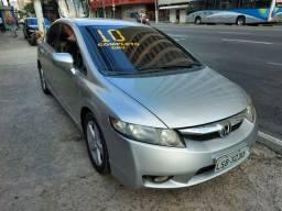 Civic 1.8 LXS 2010 - Mecânico e GNV - Financio em até 48x e parcelo em 12x no cartão