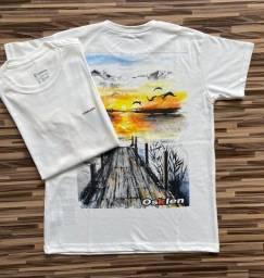 Camisetas Masculinas Malhão Osklen