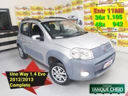 Fiat Uno Way 1.4 EVO Flex 2013 Completo