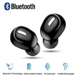 Mini Fone de Ouvido sem Fio Bluetooth 5.0 (Promoção última unidade)