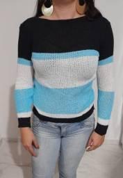 Casacos de tricot veste P e M bem quente e grossinho