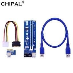 Adaptador placa de vídeo p/ mineração