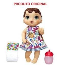 Boneca Baby Alive Hora do Xixi Morena Original