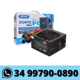 Fonte ATX para Computador 500w knup Bivolt