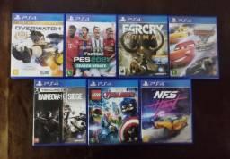 Jogos de PS4 barateza