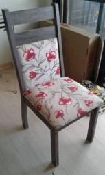 Jogo 4 cadeiras madesa