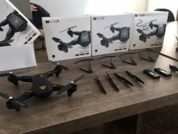 Drone Visuo XS809 - Câmera 2Mp - Bateria Extra