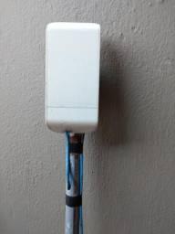 Antena e receptor de internet via rádio