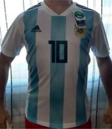 5683c06de3 Camisa Argentina Copa do Mundo 2018 - Messi 10 - M - Importada - Pronta  Entrega