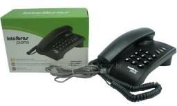 Telefone com Fio-,Intelbras- Novo, lacrado na caixa-Excelente p, Residências e escritório