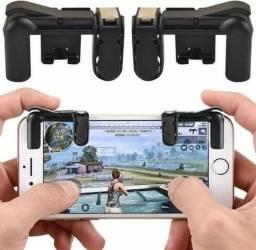 Botao P/ Smartphone Qtjgs01 Ios Ou Android - Preto Ou Branco