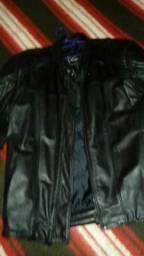 Jaqueta de couro puro comprar usado  Porto Alegre