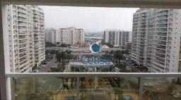 Apartamento com 2 dormitórios para alugar, 68 m² por r$ 2.100/mês - jacarepaguá - rio de j