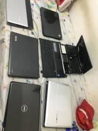 Notebooks para retirada de peças ou conserto