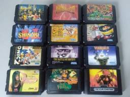 Jogos Originais e Raros p/ Sega Mega Drive Japonês (valores na descrição), usado comprar usado  São Paulo
