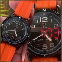 Lindo relógio analógico e digital pronta entrega em São Luís