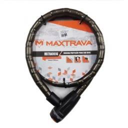 Trava Anti Furto Maxtrava Cadeado Articulado Max 200 18x1200. (Entrega grátis)
