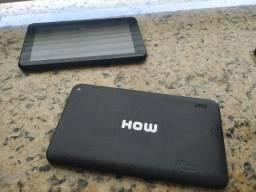 """Tablet How 7"""" Quadcore 16gb Rosa Max Ht705 (Valor Unitário)"""