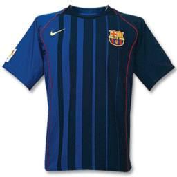 Camisa Barcelona 2004 Original Nike