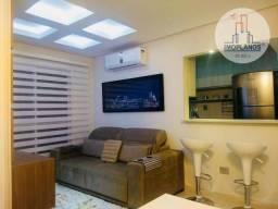 Apartamento 02 dormitórios, com 01 suíte, em Praia Grande.