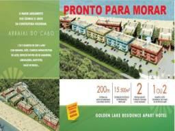 Título do anúncio: APARTAMENTO COM 1 DORMITÓRIO À VENDA, 51 M² POR R$ 340.000 - FIGUEIRA - ARRAIAL DO CABO/RJ