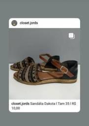 Sandália Dakota l Tam 35 l R$ 10,00