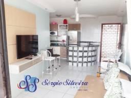 Apartamento no Porto das Dunas mobiliado. Flat com lazer completo