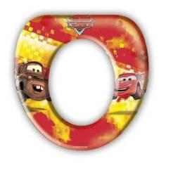 Assento acolchoado Sanitário Infantil , Carros Disney
