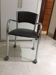 cadeira carraro com rodinhas