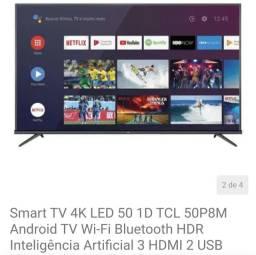 Smartv 50 4k inteligência artificial