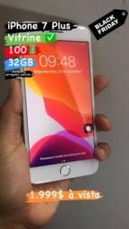 OFERTA! iPhone 7 Plus Vitrine 32GB
