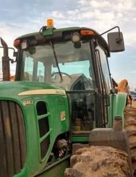 Trator Agricola John Deere 6145j 4x4 2014 *19.550 Hs