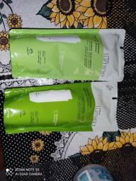 Shampoo e condicionador natura