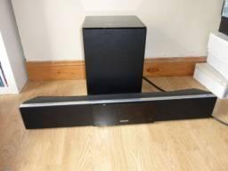 Soundbar Philips hts8100 potência de 500whats rms