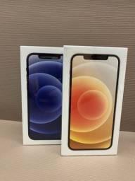 Iphone 12 Preto/Branco/Blu 64/128GB Lacrado R$ 7350,00
