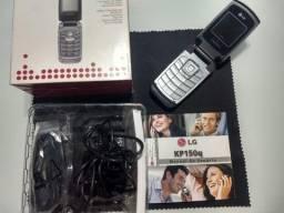 Celular LG Kp150q Cinza