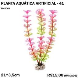 Planta 41 Aquática Artificial Tamanho Médio