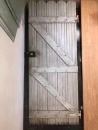 Porta madeira usado